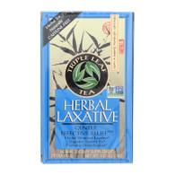 Triple Leaf Tea Herbal Laxative - 20 Tea Bags - Case of 6