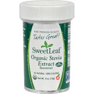 Sweet Leaf Stevia Extract - 0.4 oz