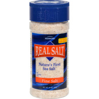 Real Salt Nature's First Sea Salt Fine Salt - 9 oz - Case of 12