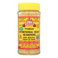 Bragg Seasoning - Nutritional Yeast - Premium - 4.5 oz - case of 12