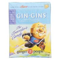 Ginger People Gingins Super Boost Candy - Case of 24 - 1.1 oz