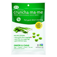 Eda-Zen Cruncha Ma Me - Onion and Chive - .7 oz - Case of 8