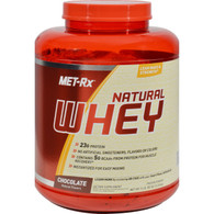 Met-Rx Instantized 100% Natural Whey Powder Chocolate - 5 lbs