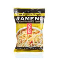Koyo Dry Ramen - Lemongrass Ginger - 2.1 oz - case of 12