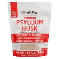 Health Plus Pure Psyllium Husk - 12 oz