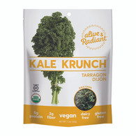 Alive and Radiant Kale Krunch - Tarragon Dijon - Case of 12 - 2.2 oz.