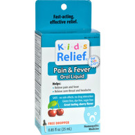 Homeolab USA Kids Relief Pain and Fever Cherry - 0.85 fl oz