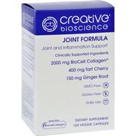 Creative Bioscience Joint Formula - 120 Vegetarian Capsules