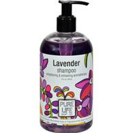 Pure Life Shampoo Lavender - 14.9 fl oz