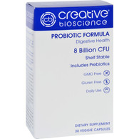 Creative Bioscience Probiotic Formula - 30 Vegetarian Capsules