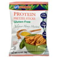 Kay's Naturals Better Balance Pretzel Sticks Jalapeno Honey Mustard - 1.2 oz - Case of 6