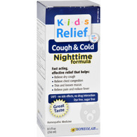 Homeolab USA Kids Cough and Cold Nighttime Formula - 8.5 fl oz