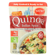 Suzie's Quinoa - Ready to Eat - Indian Spice - 8 oz - Case of 6