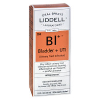 Liddell Homeopathic Bladder and UTI Spray - 1 fl oz