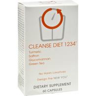 Creative Bioscience Cleanse Diet 1234 - 60 Vegetarian Capsules