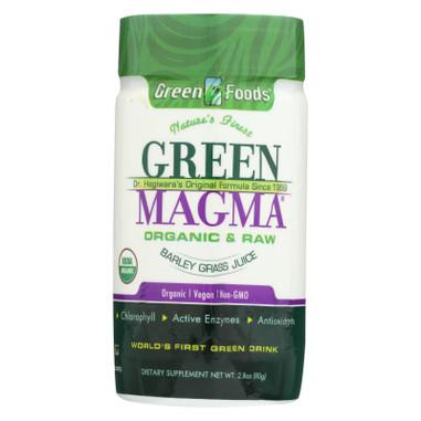 Green Foods Dr Hagiwara Green Magma Barley Grass Juice Powder - 2.8 oz