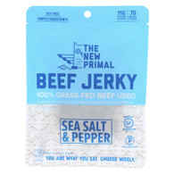 The New Primal Beef Jerky - Original - Gluten Free - 2 oz - case of 8