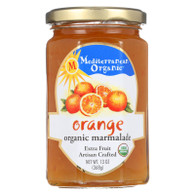 Mediterranean Organic Fruit Preserves - Organic - Orange Marmalade - 13 oz - case of 12