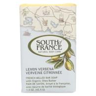 South Of France Bar Soap - Lemon Verbena - Travel - 1.5 oz - case of 12