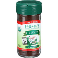 Frontier Herb Cloves - Organic - Fair Trade Certified - Ground - 1.9 oz