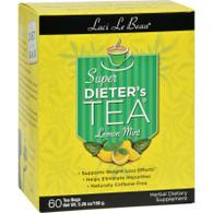 Laci Le Beau Super Dieter's Tea Lemon Mint - 60 Tea Bags