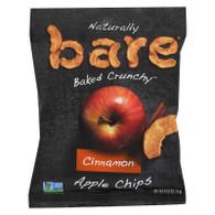 Bare Fruit Cinnamon Apple Chips - Case of 24