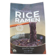 Lotus Foods Ramen - Organic - Forbidden Rice - 4 Ramen Cakes - 10 oz - case of 6