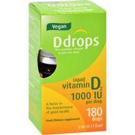 D Drops Vitamin D Drops 1000 IU - 180 Drops - .17 oz