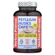 Yerba Prima Psyllium Husks Caps - 180 Capsules