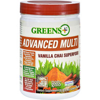 Greens Plus Superfood - Advanced Multi - Vanilla Chai - 9.4 oz