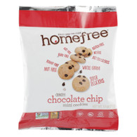 Homefree Gluten Free Chocolate Chip Mini Cookies - 1.1 oz - Case of 10