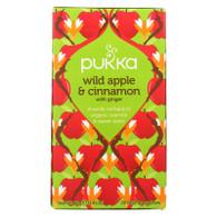 Pukka Herbal Teas Tea - Organic - Wild Apple and Cinnamon - 20 Bags - Case of 6