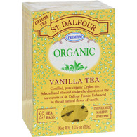 St Dalfour Organic Tea Vanilla - 25 Tea Bags