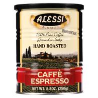 Alessi Coffee - Caffe Espresso - 8.8 oz - Case of 6