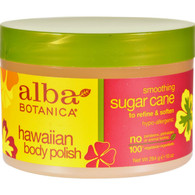 Alba Botanica Hawaiian Body Polish Sugar Cane - 10 oz