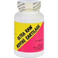 Ultra Glandulars Bovine Cartilage - Raw - 60 Capsules