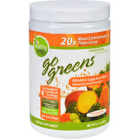 To Go Brands Inc Superfood Blend - Go Greens - Powder Mix - Orange - Blood Orange Mango - 8.5 oz