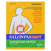 Salonpas Capsicum Patch - Hot - Pack