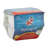 Kelapo Extra Virgin Coconut Oil - Case of 6 - 4 oz.