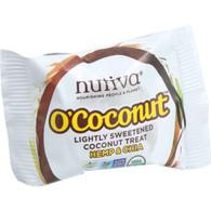 Nutiva Organic O Coconut Bar - Hemp and Chia - .5 oz - Case of 24