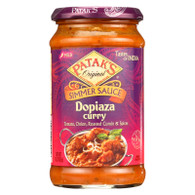 Pataks Simmer Sauce - Dopiaza Curry - Mild - 15 oz - case of 6