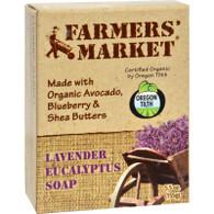 Farmer's Market Natural Bar Soap Lavender Eucalyptus - 5.5 oz
