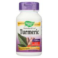Nature's Way Turmeric - Maximum Potency - 750 mg - 60 Vegetarian Capsules