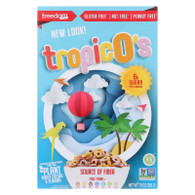 Freedom Foods Cereal - TropicOs - Gluten Free - 10 oz - case of 5