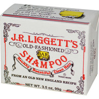 J.R. Liggett's Old Fashioned Bar Shampoo Counter Display - The Original - 3.5 oz - Case of 12