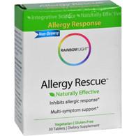 Rainbow Light Allergy Rescue - 30 Tablets