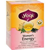Yogi Tea Woman's Energy - Caffeine Free - 16 Tea Bags