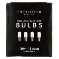 Evolution Salt Bulb - Clear - 15 Watt - Pack of 4