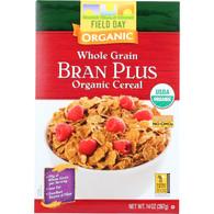 Field Day Cereal - Organic - Whole Grain - Bran Plus - 14 oz - case of 10