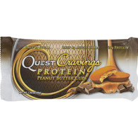 Quest Cravings Bars - Peanut Butter Cup - 1.76 oz - Case of 12